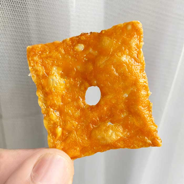Keto Crispy Cheddar Crisps Recipe
