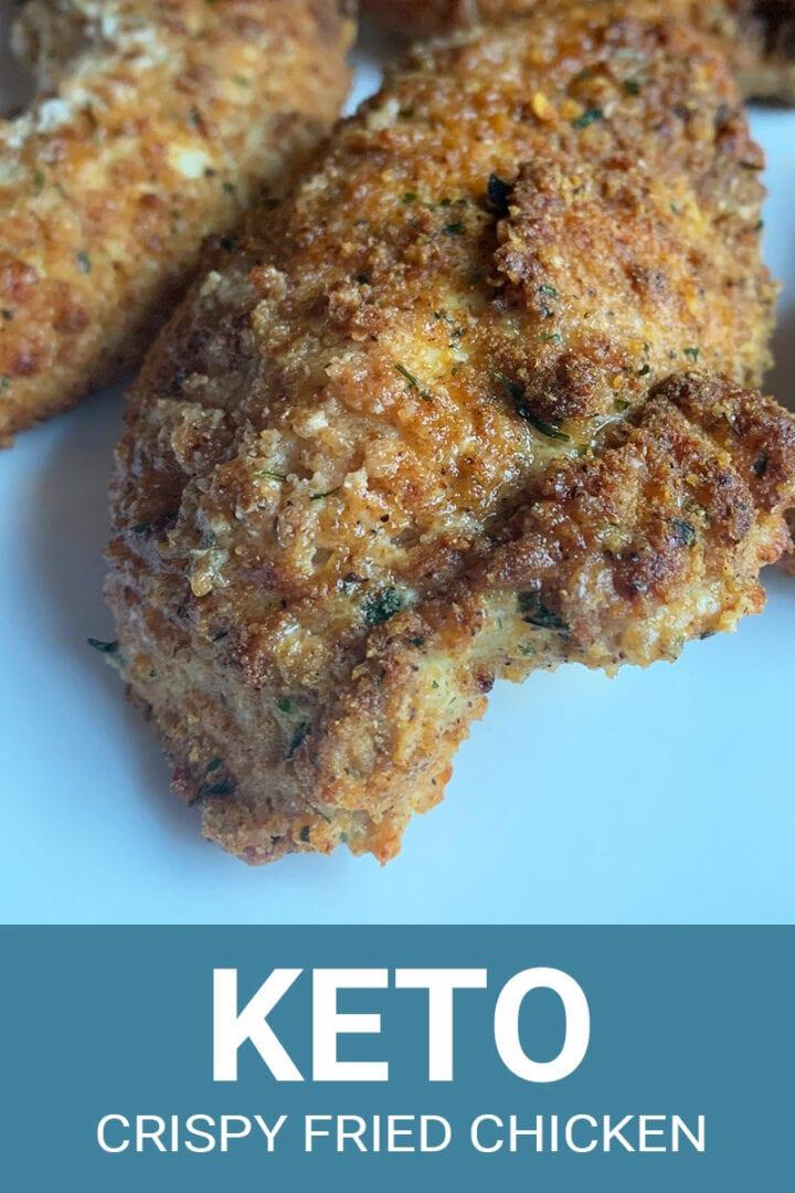 Keto Fried Chicken Recipe from No Bun Please