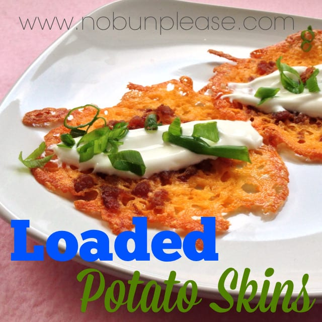All of that loaded potato skin taste without the high carb price tag!