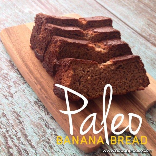 Paleo style Banana Bread!