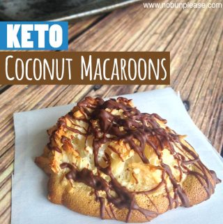 Low Carb Ketogenic Coconut Macaroons