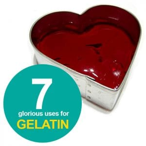 7 uses for gelatin