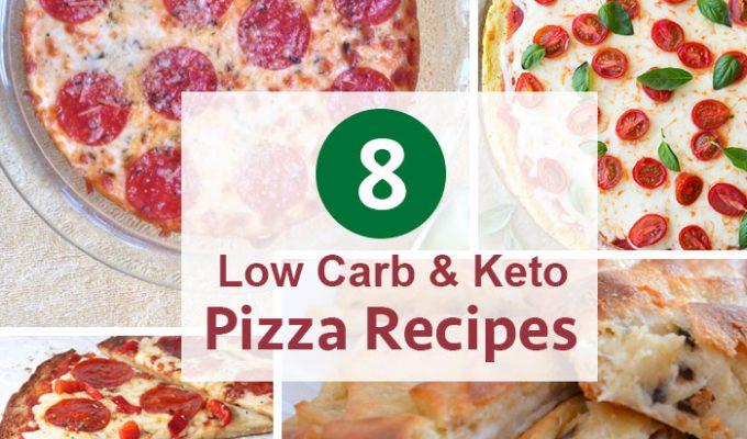 8 Low Carb & Keto Pizza Recipes