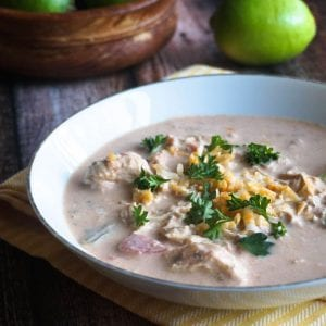 Fiesta Lime Chicken Chowder