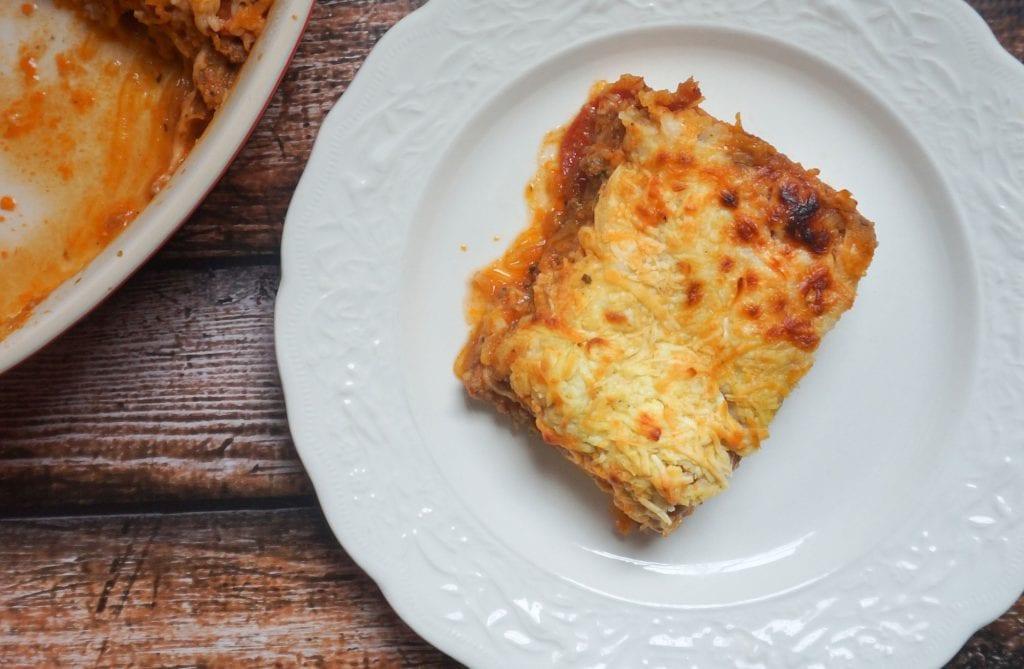 Italian Spaghetti Squash Casserole