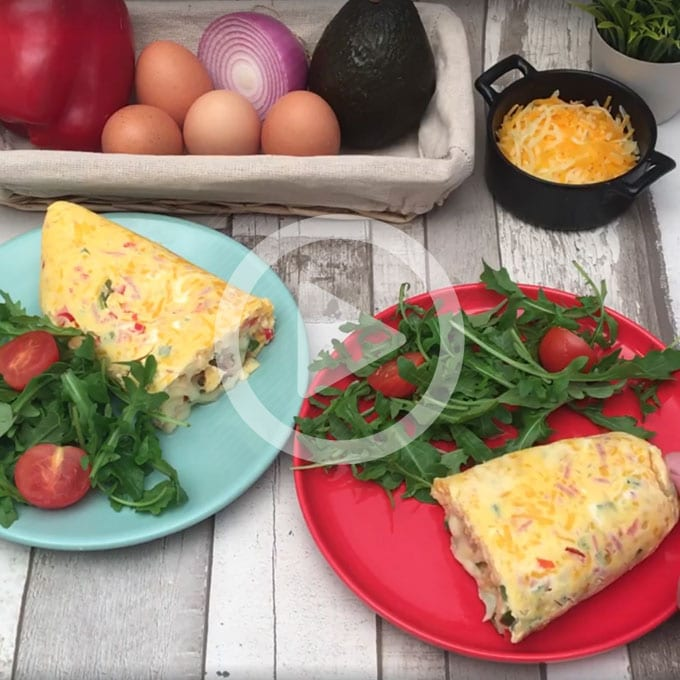 Keto Ziplock Bag Omelettes from ChefClub UK