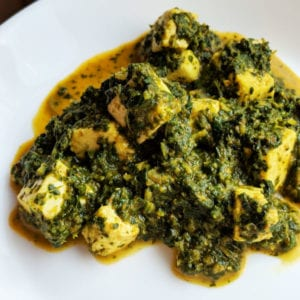 Low Carb & Keto Palak Paneer