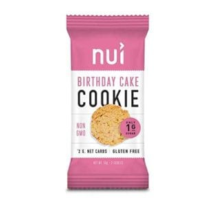 Nui Birthday Cake Cookie