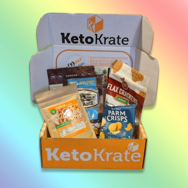 Keto Krate Unboxing: August 2018