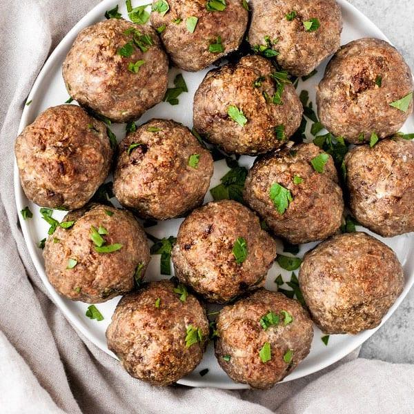 Dairy Free Keto Meatballs