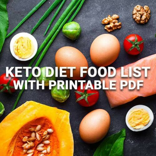 Keto Diet Foods with Printable PDF