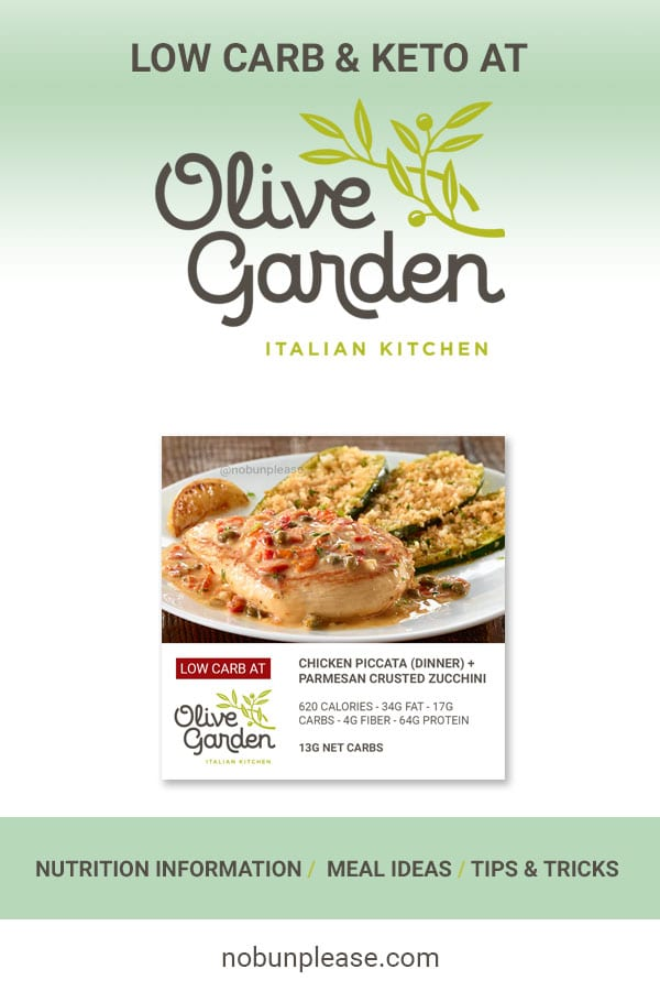 Keto at Olive Garden: Low Carb Meal Options
