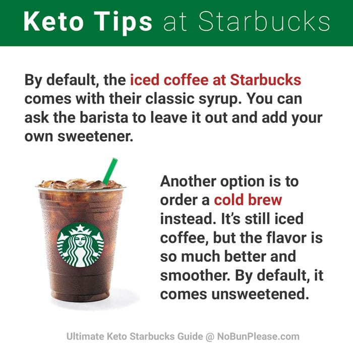 Starbucks Iced Coffee Warning