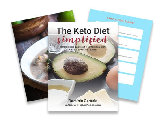 Keto Diet Simplified from No Bun Please