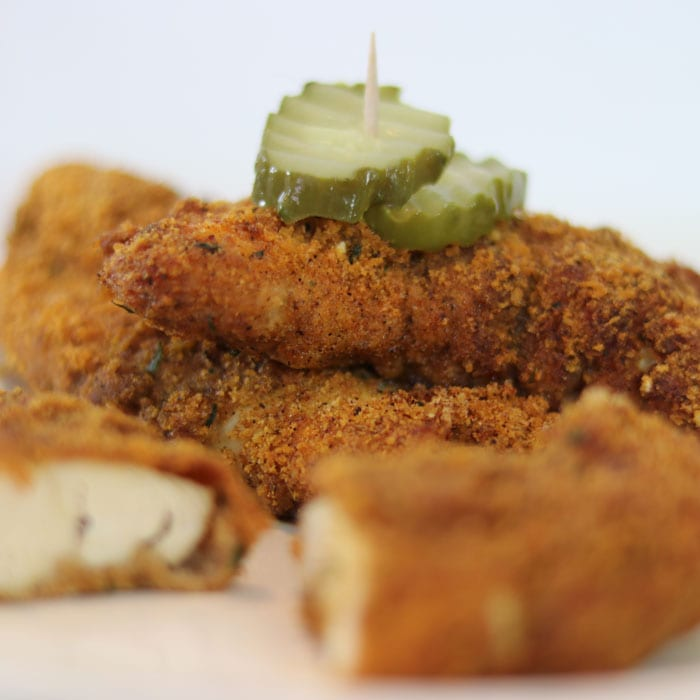 Keto Pickle Brined Chicken Tenders