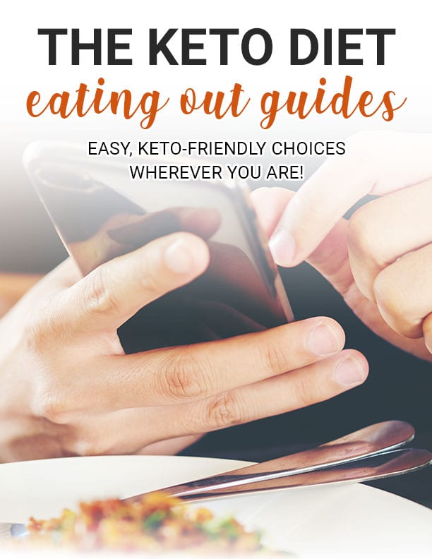 Keto Diet Eating Out Guides E-Book