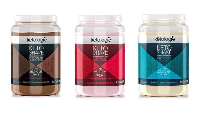 Ketologie Shake Flavors