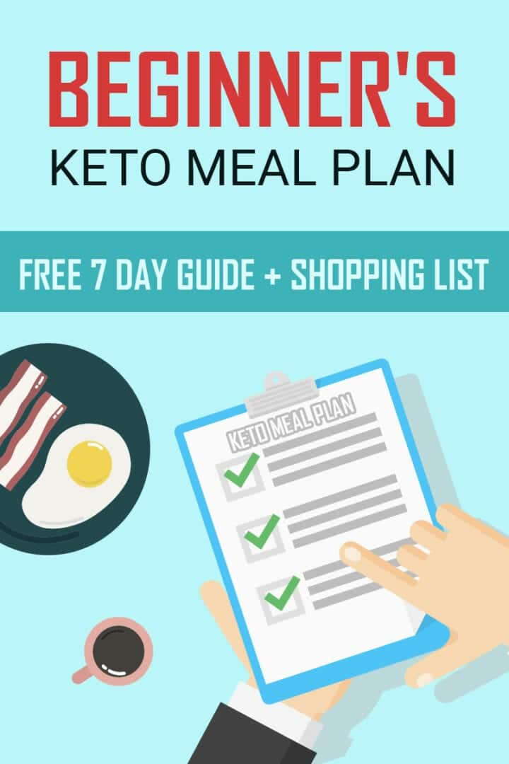A Beginner's Keto Meal Plan + Printable Shopping List