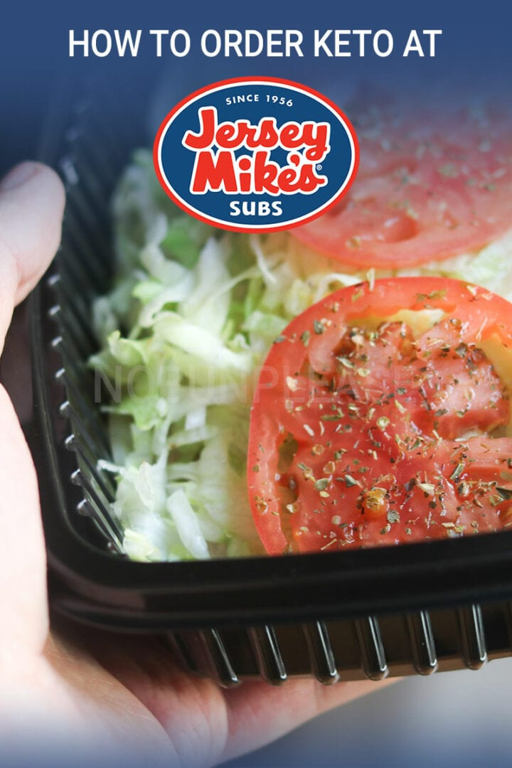 Ordering Keto at Jersey Mike's