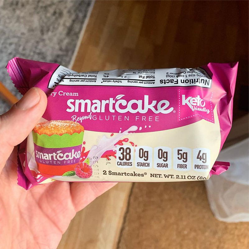 Raspberry Cream Smartcake Review