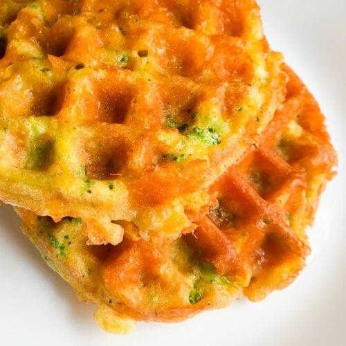 Broccoli & Cheese Waffles