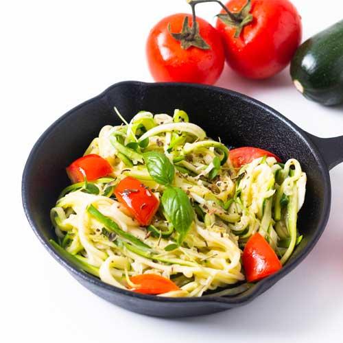 Zoodles Zucchini Noodles