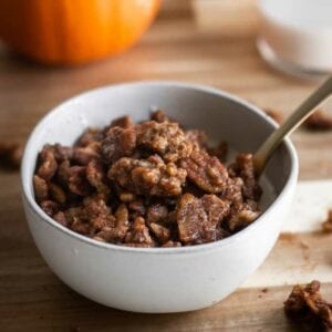 Lolli's Pumpkin Spice Cookie Clusters