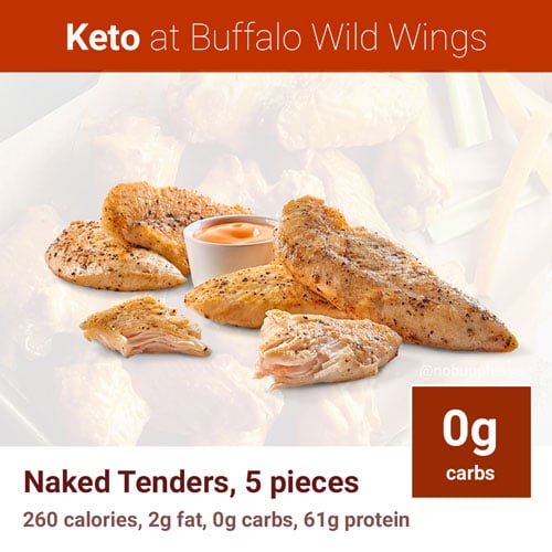 Naked Tenders at BWW