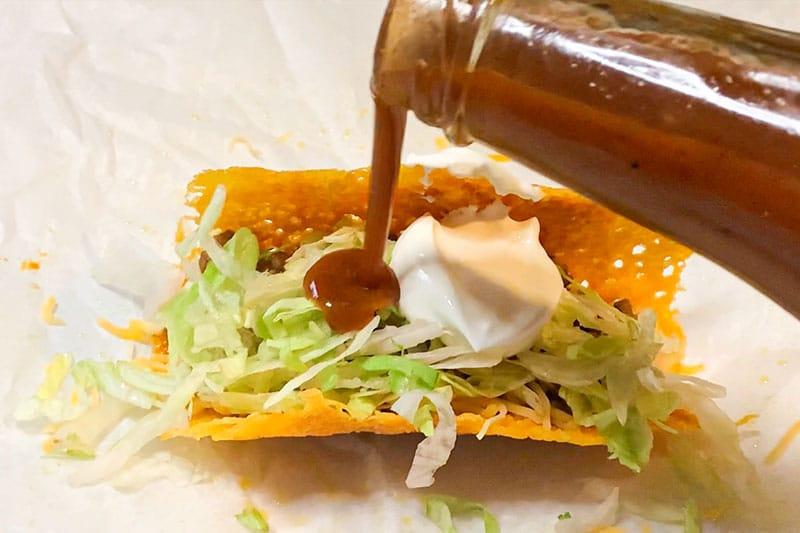 Cheese Shell Taco