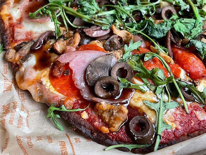 Loaded Keto Pizza from Blaze