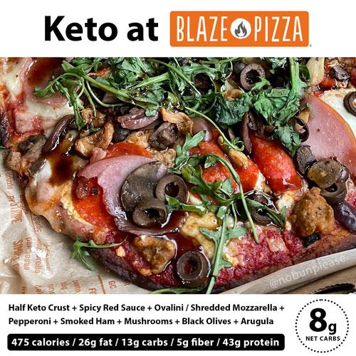 Keto Blaze Pizza