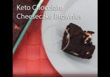 Keto Chocolate Cheesecake Brownies