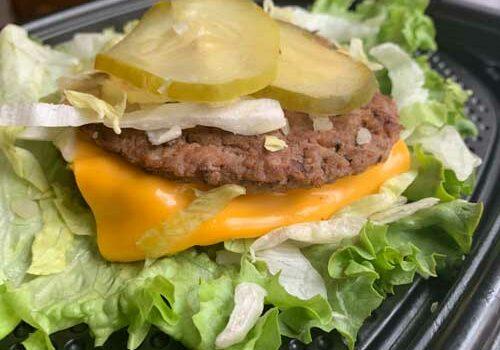 Bunless Big Mac