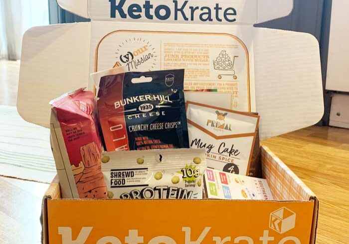 Keto Krate November 2019 Unboxing