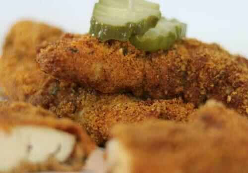 Keto Pickle Brined Chicken Tenders