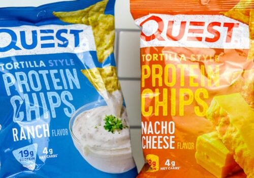 Review: Quest Tortilla Chips - Nacho Cheese & Ranch Flavors